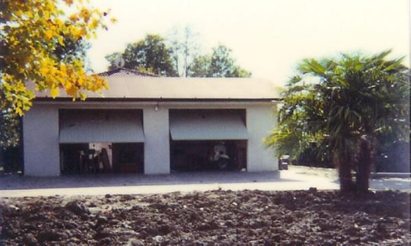 Prefabbricati franzin immagine box auto doppio tetto for Due box auto indipendenti